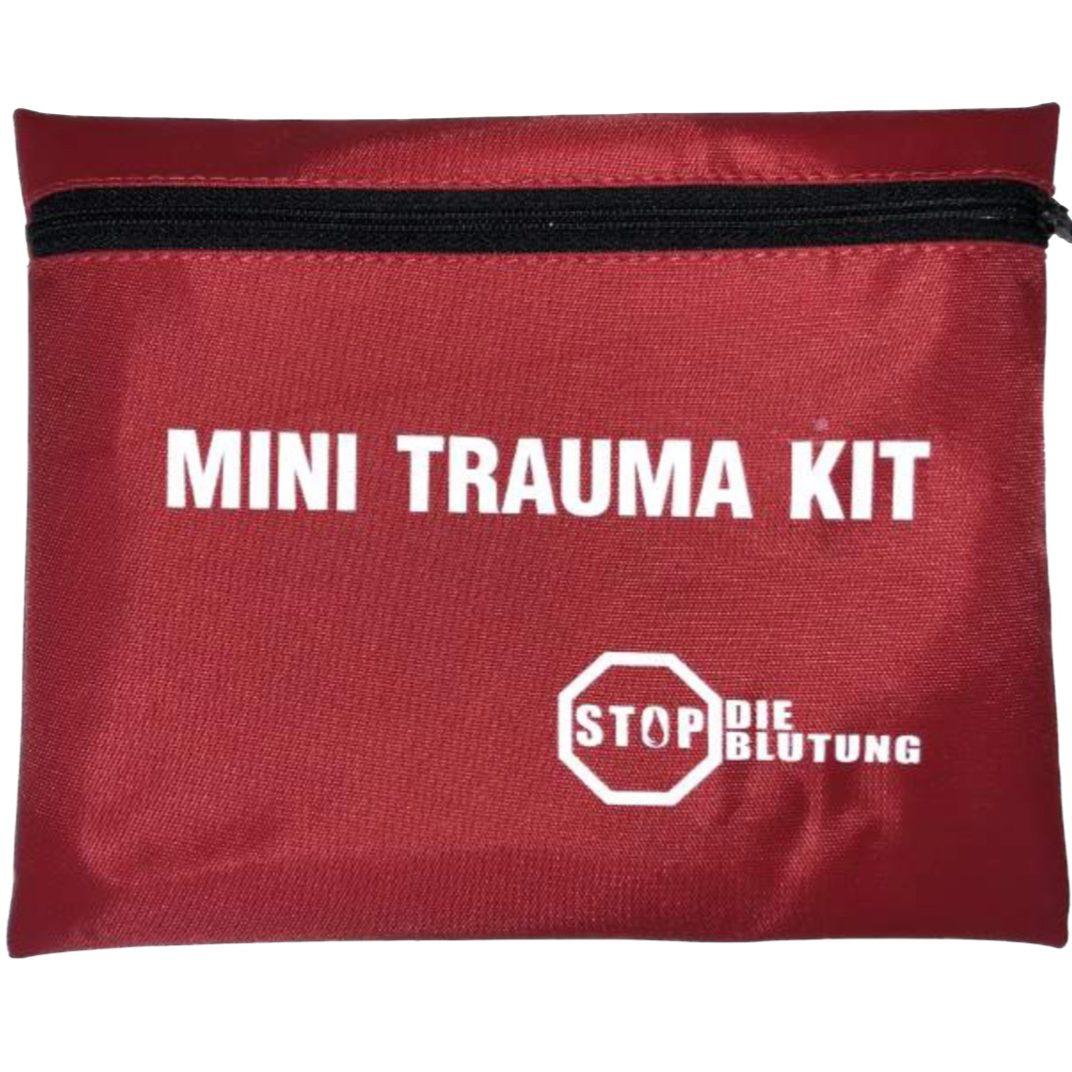 """""""CTC Medical MTK / Mini Trauma Kit Dieses Mini Trauma Kit wurde in enger Zusammenarbeit mit der Berliner Polizei konzipiert."""